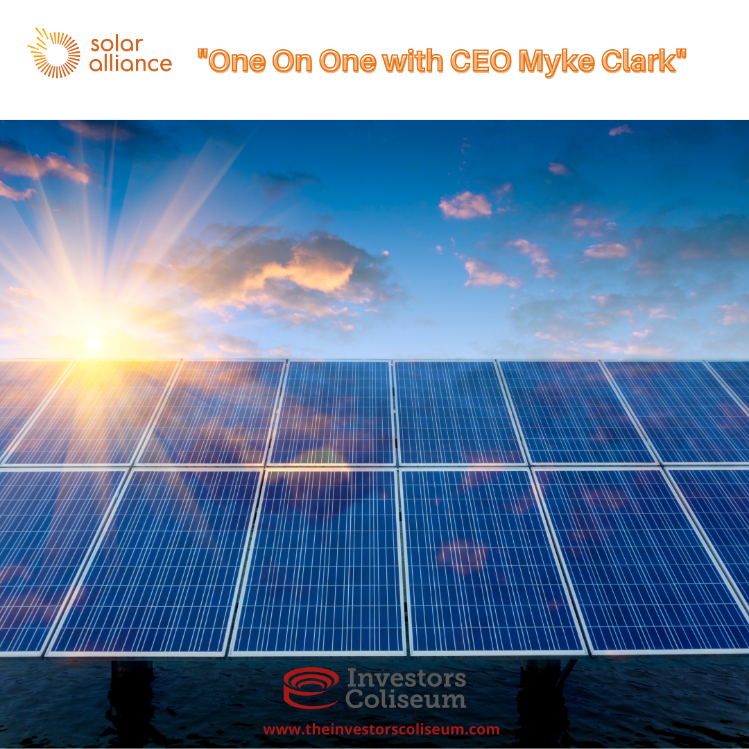 EP. 2: One-one-One with CEO Myke Clark of Solar Alliance Energy