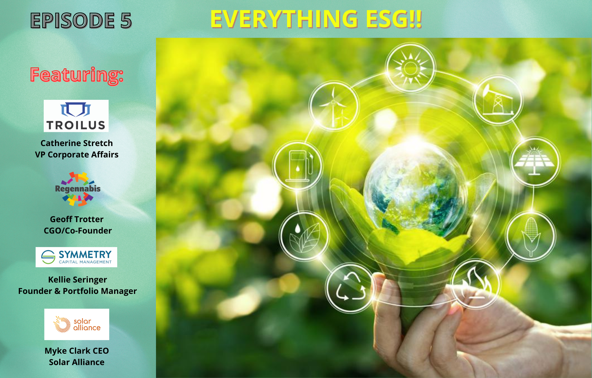 """EP. 5: ESG Governance Slowly Becoming The New Normal """"Everything ESG """"!!"""